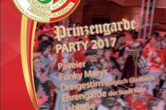 Prinzengarde-Party_Flyer